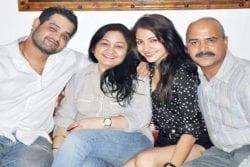 Anushka Sharma Family Photo