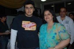 Arjun Kapoor Family photo