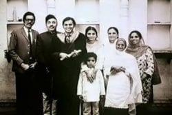 Balraj Sahni Family Photo