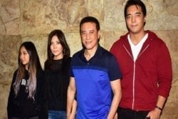 Danny Denzongpa Family Photo