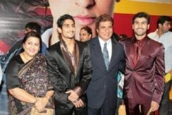 Arya Babbar Family Photo