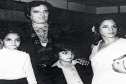 Feroz Khan Family Photo