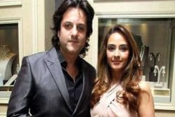 Fardeen Khan Family Photo