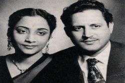 Guru Dutt Family Photo