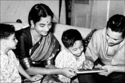 Guru Dutt Family Photo