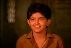 Hrithik Roshan childhood Photo