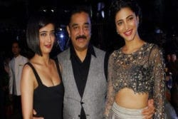 Kamal Haasan Family Photo