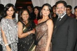Malaika Arora Family Photo