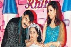 Manoj Tiwari Family Photo