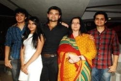 Mithun Chakraborty Family Photo