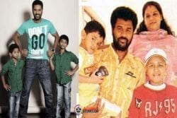 Prabhu Deva Family Photo