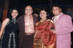 Rani Mukherjee Family Photo