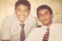 Ranveer Singh ChildHood Photo