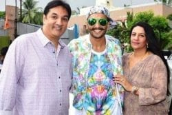 Ranveer Singh Family Photo