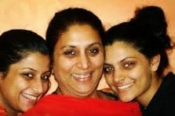 Saiyami Kher Family Photo