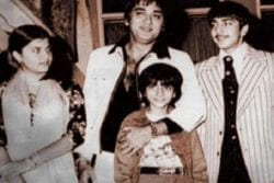 Sanjay Dutt Childhood Photo