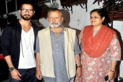 Shahid Kapoor Family Photo