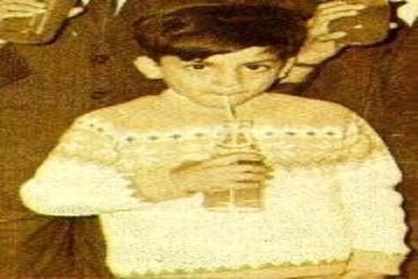 Shahrukh Khan Childhood Photo
