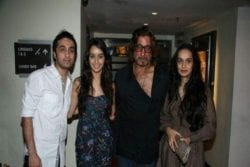 Shraddha Kapoor Family Photo