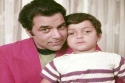 Sunny Deol ChildHood Photo