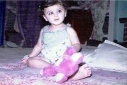 Sunny Leone Childhood Photo