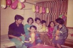 Sushant Singh Rajput Family Photo