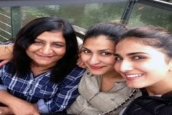 Vaani Kapoor Family Photo
