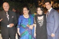 Prem Chopra Family Photo