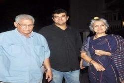 Aditya Roy Kapur Family Photo