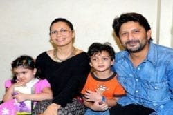 Arshad Warsi Family