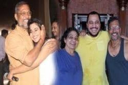 Nana Patekar Family Photo