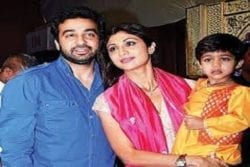 Shilpa Shetty Family Photo