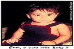 Emraan Hashmi Childhood Photo