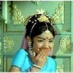 Sridevi Childhood Photograph