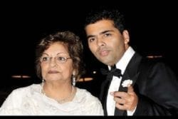 Karan Johar Family Photo