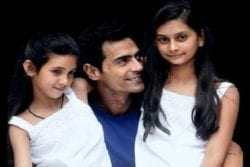 Arjun Rampal Family Photo