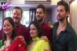 Neil Nitin Mukesh Family Photo