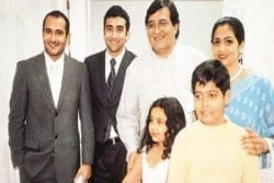Akshaye Khanna Family Photo