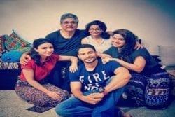 Kunal Khemu Family Photo