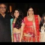 Sridevi with Family Photograph