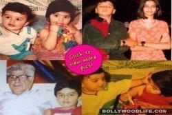 Arjun Kapoor childhood photo