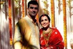 Vidya Balan Family Photo
