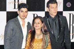 Sooraj Pancholi Family Photo