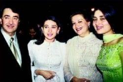 Randhir Kapoor Family Photo