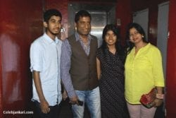 Raju Srivastav Family Photo