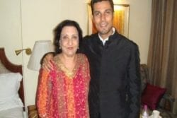 Randeep Hooda Family Photo