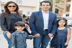 Ronit Roy Family Photo