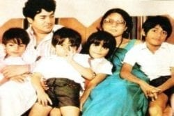 Salim Khan Family Photo