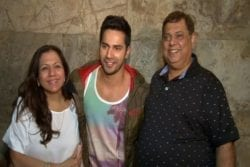 Varun Dhawan Family Photo