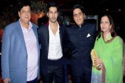 Varun Dhawan Family Photo